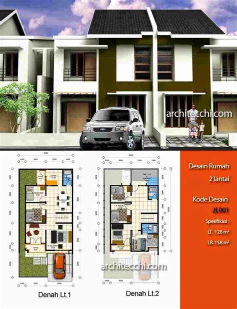 desain rumah minimalis  lantai cluster terbaru