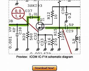 Download Icom Ic-f14 Service Repair Manual