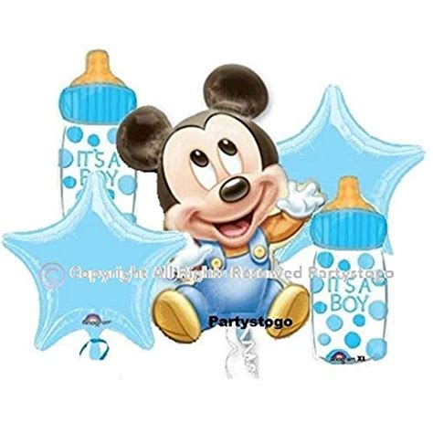 Mickey Mouse Decorations For Baby Shower - baby mickey mouse decorations for baby shower