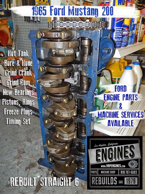 Ford Mustang Remanufactured Engine Short Block