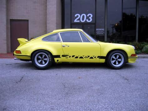 1973 rsr porsche 1973 porsche 911 rsr 2 8 liter chassis 911 360 0756