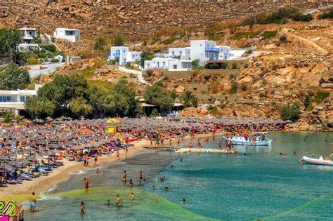 Super Paradise Beach Mykonos Island Beach And General Info