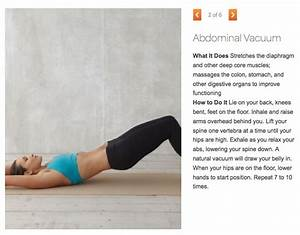 Abdominal Vacuum | Exercise: Abs & Core | Pinterest | Vacuums