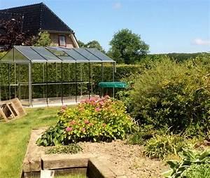 Serre En Polycarbonate Ou En Verre : serres de jardin aluminium ~ Premium-room.com Idées de Décoration