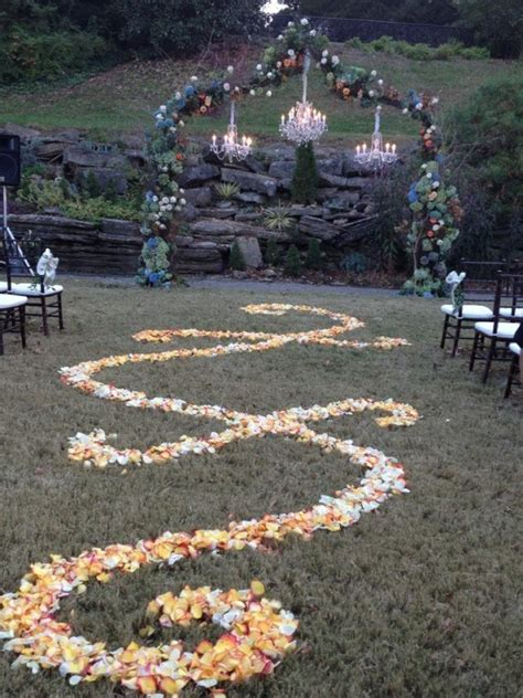 a fall outdoor wedding