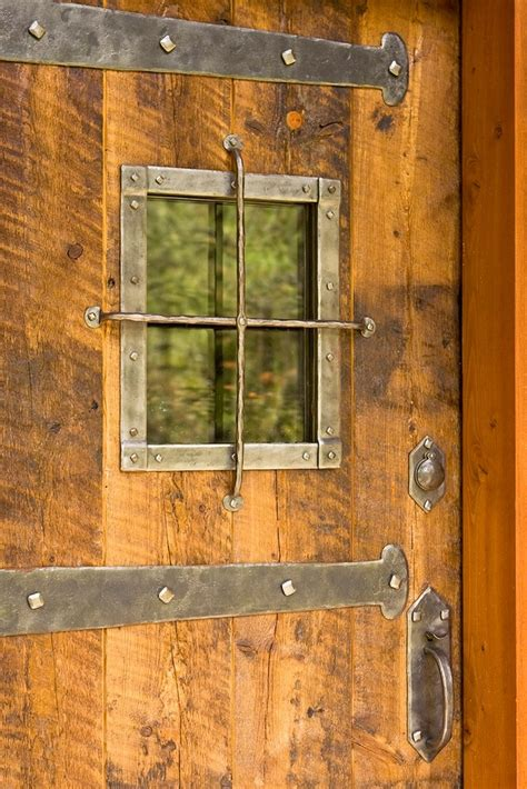 rustic front doors cosy cabin beautifully warm home has traditional