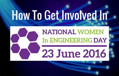How To Get Involved In National Women In Engineering Day