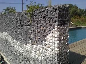 Mur De Cloture En Gabion : le jardin de provence paysagiste ~ Edinachiropracticcenter.com Idées de Décoration