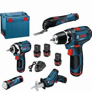 Outil Multifonction Bosch Pro : bosch kit 5 outils 10 8v lithium ion 0615990ex4 bosch ~ Dailycaller-alerts.com Idées de Décoration