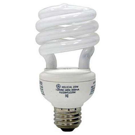 Self Ballasted L Bulb by Ge Ls Fle20ht3 2 827 Quartzline 174 Self Ballasted Spiral