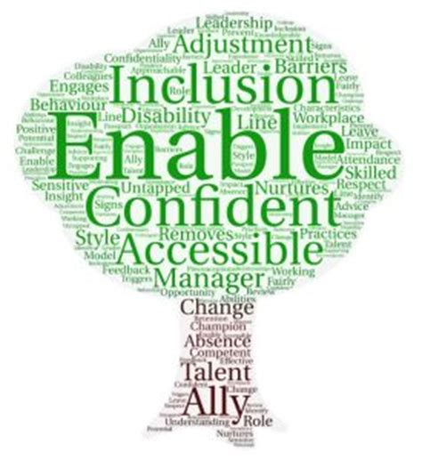 disability confident  management  key