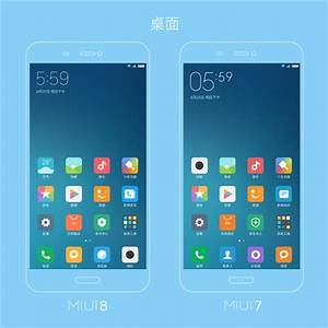 Miui 8 vs miui 7 interface design changes compared for Miui 8 documents app