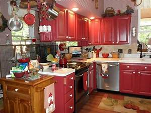 Amazing Value Of Red Kitchen Cabinets My Home Design Journey