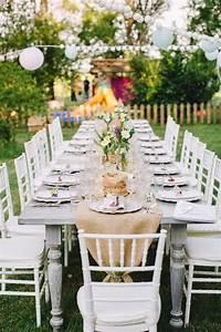 Deco De Table Champetre : d coration table mariage rectangulaire champ tre ou vintage ~ Melissatoandfro.com Idées de Décoration