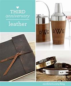 gifts leather and wedding on pinterest With 3rd wedding anniversary gift ideas