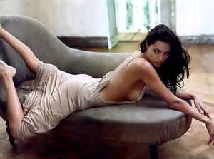 Cindy Crawford Denim Sofa Cleaning by Angelina Jolie Workout Amp Diet Getting In Hollywood Shape