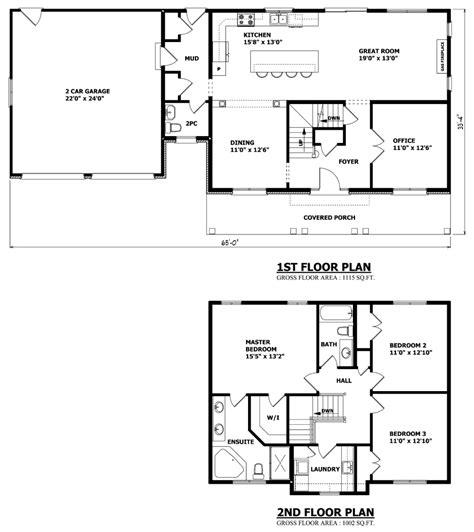 canadian house design floor plan of two storey house escortsea