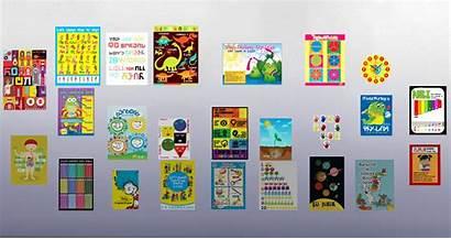 Custom Posters Showcase Pack Simsvip