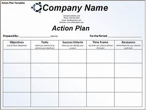 6 sample action plan template teknoswitch With what is an action plan template