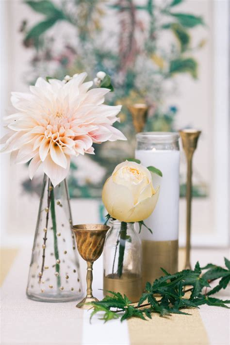 DIY gold wedding decor ideas Wedding Inspiration 100