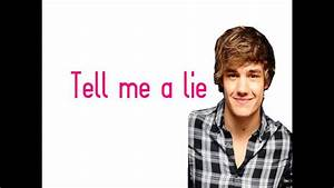 """Tell Me A Lie"" - One Direction (Lyrics + Pictures) FULL ..."