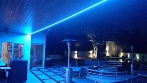 Outdoor led lighting for patios : Residential led strip lighting projects from flexfire leds