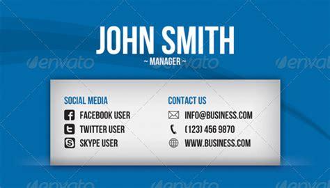 social media business card  artnook graphicriver