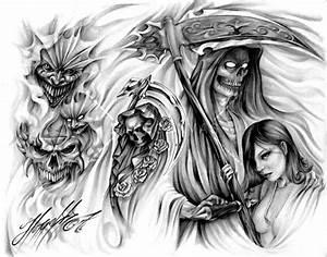 evil tattoo flash | awasteoftalent - evil tattoo flash at ...