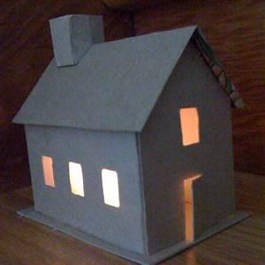 Comment Faire Des Choses En Papier : fabriquer une maison en carton ~ Zukunftsfamilie.com Idées de Décoration