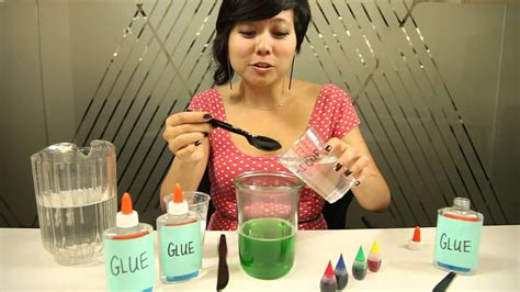 diy    slime  simple household products
