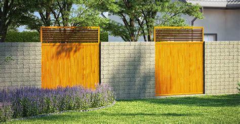Garten Sichtschutz Mauern by Mauer Zaun Sichtschutz Mauer Als Sichtschutz 2018