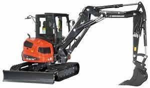 Eurocomach ES 60 TR Minibagger 6 Tonnen Bagger