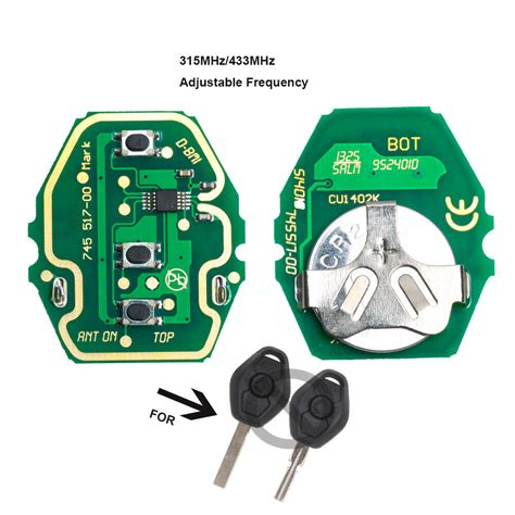 Adjustable Frequency Remote Control Circuit Board For Bmw