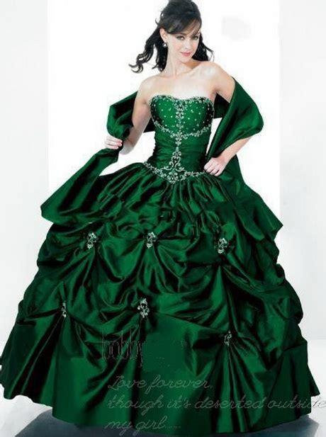 groene trouwjurk