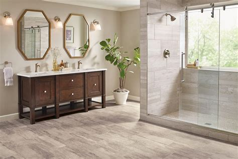 distressed wood flooring bathroom flooring guide armstrong flooring residential