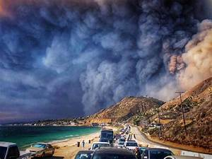 Out of control wildfires decimate towns across California ...