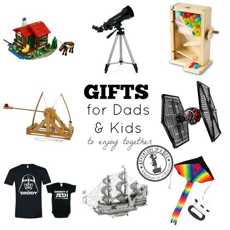 gifts for time dads gifts for dads and kids to enjoy together adventure in a box