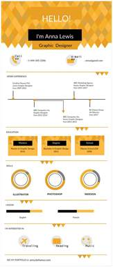 Visual Resume Templates Infographic Resume Templates The Recruiters Will Creately