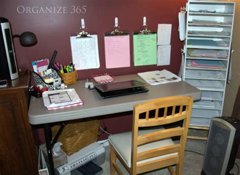 Making A Bedroom Office Work. Desk With Drawer. Ottoman As Coffee Table. Children's Craft Table. Lifetime 6 Foot Folding Table