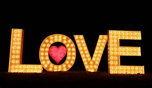 Love Light Hire Letters, Initials, Light Boxes, Hearts