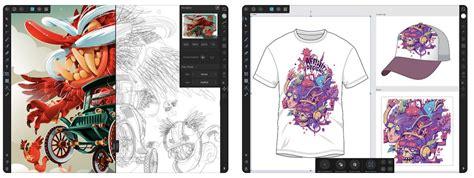 graphic design app affinity designer launches  ipad