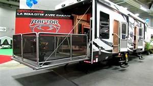Garage Salon : 2012 raptor 300mp roulotte caravan avec garage at 2012 salon du vr vehicules recreatifs de ~ Gottalentnigeria.com Avis de Voitures