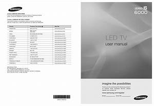 Samsung Smart Tv Series 8 User Manual