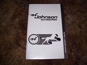 1964 Johnson 9 5 Hp Outboard Motor Owner U0026 39 S Manual