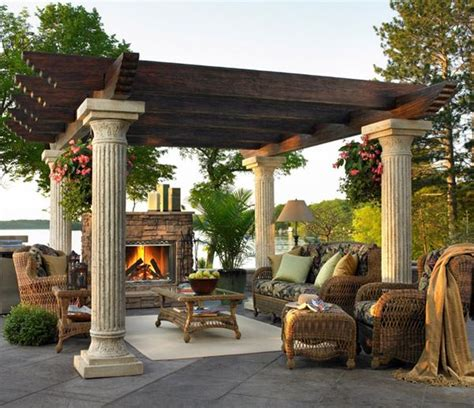 outdoor arbor ideas shaded to perfection elegant pergola designs for the