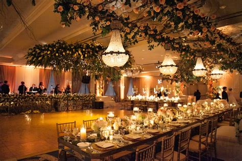 reception decor  head table parallel  band stage