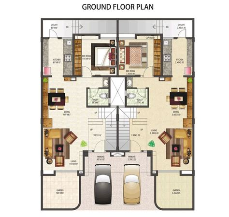 Unlike the earlier house this plan includes both cellar and basement. Pin by I Dayagbil on ArcType: Rowhousing | Floor plans, Row house, Row house design