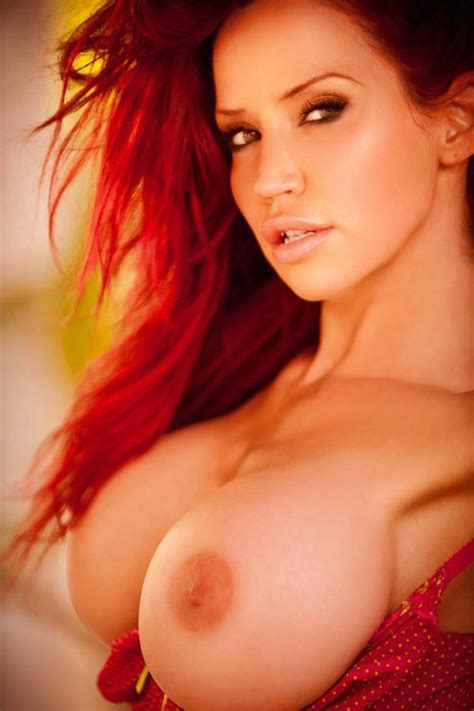 red hair and big boobs