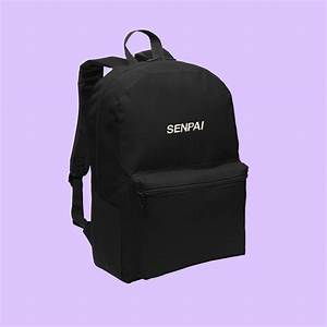 SENPAI TUMBLR Aesthetic backpack – kokopiecoco