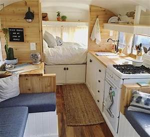fabulous rv camper vintage bedroom interior design ideas With interior ideas for campers
